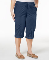 Style&Co. Style & Co Plus Size Skimmer Shorts, Ony at Macy's