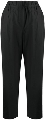 Alysi Straight-Leg Cropped Trousers