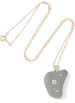 Cvc Stones Yara 18-karat Gold, Stone And Diamond Necklace