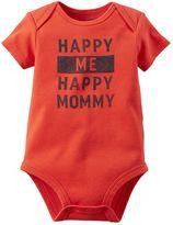 Carter's Baby Boy Family Statement Short Sleeve Bodysuit