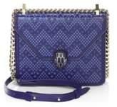 Bvlgari x Nicholas Kirkwood Serpenti Forever Studded Leather Chain Crossbody Bag