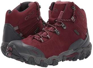 Oboz Bridger BDRY (Mahogany) Women's Hiking Boots