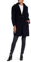 Derek Lam 10 Crosby Notch Lapel Wool Blend Coat
