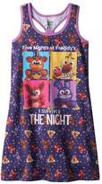 Intimo Girls 6-14 Five Nights at Freddy's Dorm Nightgown