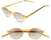 Eyebobs Men's Board Stiff 43Mm Reading Sunglasses - Orange Crystal