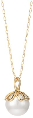 Kate Spade Mini Faux Pearl Pendant Necklace