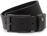 Ted Baker Line Detail Leather Belt