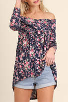 Umgee USA Off Shoulder Floral