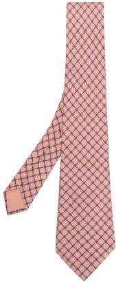 Hermes Pre-Owned Striped Tie