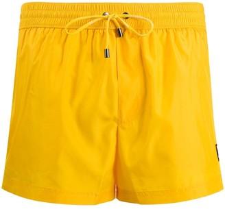 Dolce & Gabbana embroidered swim shorts
