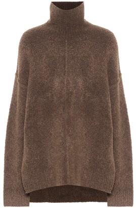Peter Do Virgin wool and camel hair-blend turtleneck sweater