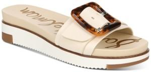 Sam Edelman Women's Ariane Buckle Sport Slides Women's Shoes