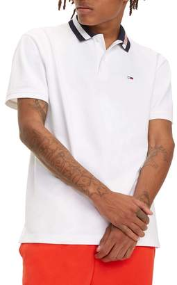 Tommy Jeans Tipped Collar Polo