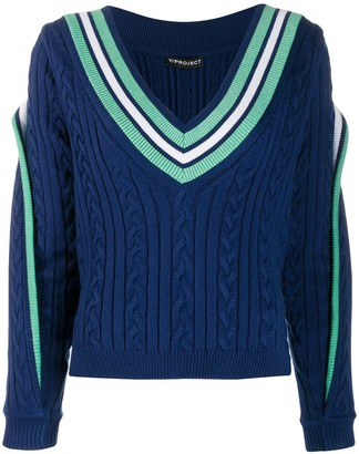 Y/Project Cable Knit Jumper