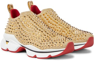 Christian Louboutin Spike Sock Donna sneakers