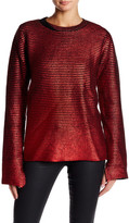 Zadig & Voltaire Long Sleeve Wool Blend Sweater
