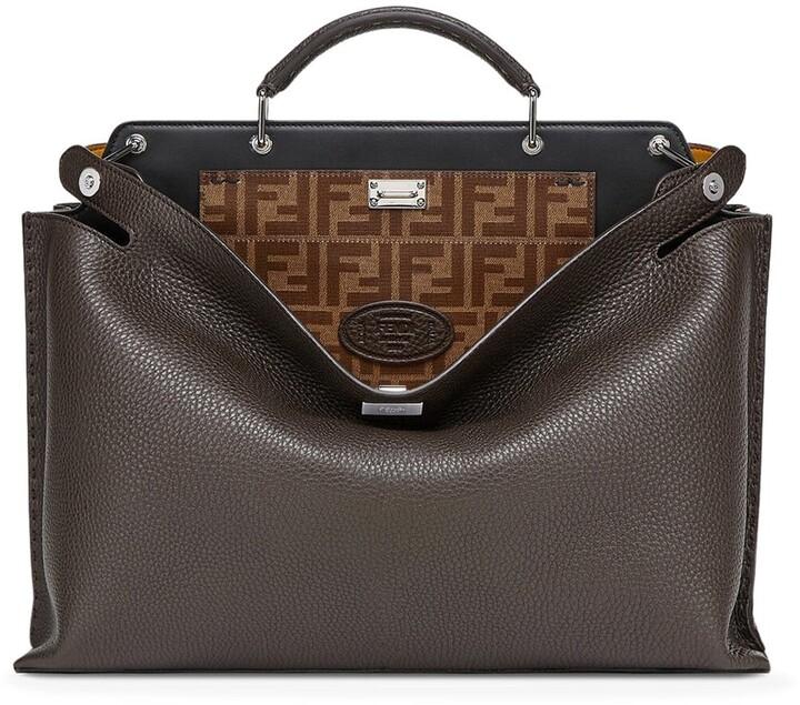 Fendi Peekaboo Essential Briefcase