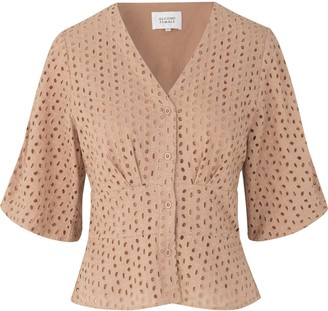 Milly Second Female - Praline Blouse - XS