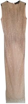 Elisabetta Franchi Beige Lace Dresses