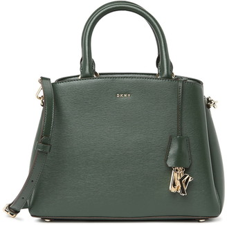 DKNY Paige Medium Leather Satchel