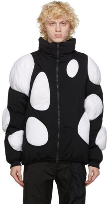 Post Archive Faction (PAF) Post Archive Faction PAF Black and White Down 3.1 Left Jacket