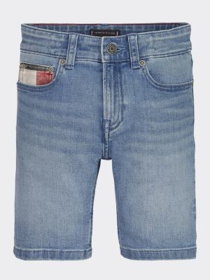 Tommy Hilfiger Denim Contrast Pocket Shorts