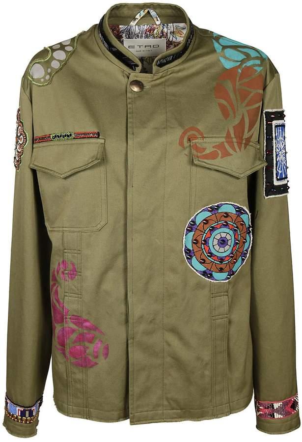 Etro Embroidered Jacket