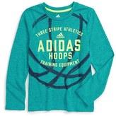adidas 'Hoops Training Equipment' Graphic Climalite ® T-Shirt