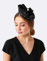 Forever New Penny Bow & Pearl Fascinator
