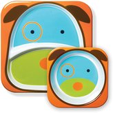 Skip Hop Zoo Tableware, Melamine Plate and Bowl Set, Darby