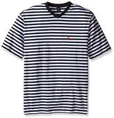 U.S. Polo Assn. Men's Candy Striped V-Neck T-Shirt