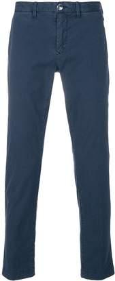 Jacob Cohen Academy mid-rise straight-leg trousers