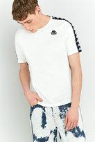 Kappa Zasti White Taped Raglan Shirt