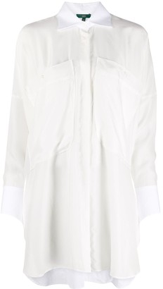Jejia Oversized Two-Pocket Shirt