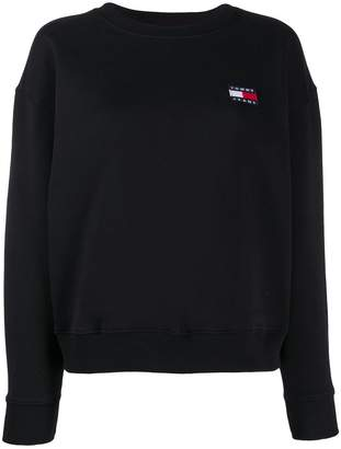 Tommy Jeans embroidered logo sweatshirt