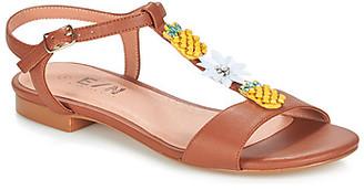 Elue par nous ESPERE women's Sandals in Brown