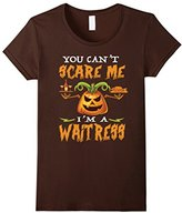 You Can't Scare Me I'M A Waitress Halloween T-Shirt--