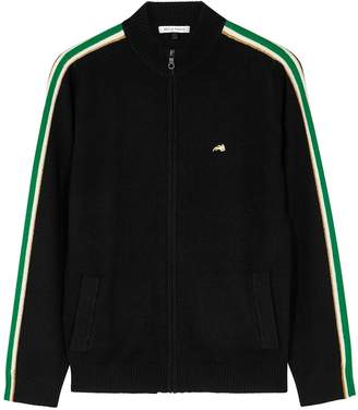 Bella Freud Suzuka Black Cashmere Blend Jacket
