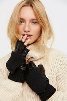 Carolina Amato Silver Lining Pop-Top Glove by at Free People