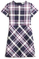 Brooks Brothers Short-Sleeve Tartan Dress