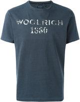 Woolrich logo print T-shirt