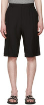 Lanvin Black Cotton Shorts
