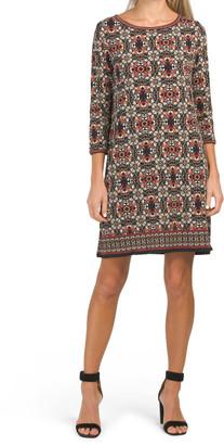 Short Shift Matte Jersey Dress