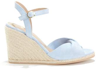 Bobbies La Pensive Peep Toe Wedge Espadrilles