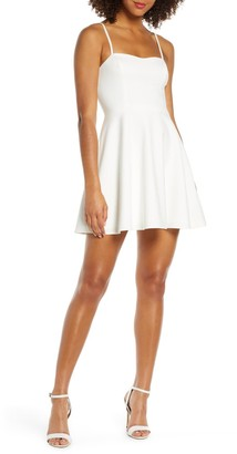 French Connection Sweetheart Fit & Flare Dress