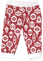Urban Smalls Red Ornament Harem Pants - Infant
