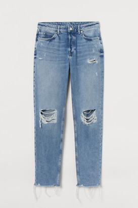 H&M Boyfriend Low Regular Jeans