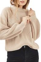 Topshop Women's Blouson Sleeve Sweater