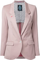 GUILD PRIME single breasted blazer - women - Polyester/Polyurethane/Rayon - 34