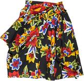 Carolina Herrera Floral-Print Cotton And Silk-Blend Mini Skirt